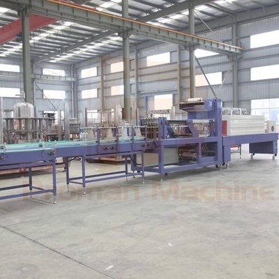 Linear Type Shrink Wrapping Machine