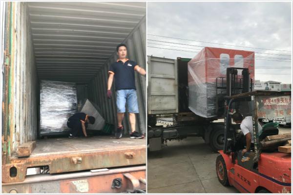 Proman exported bottle blowing machines to Yemen