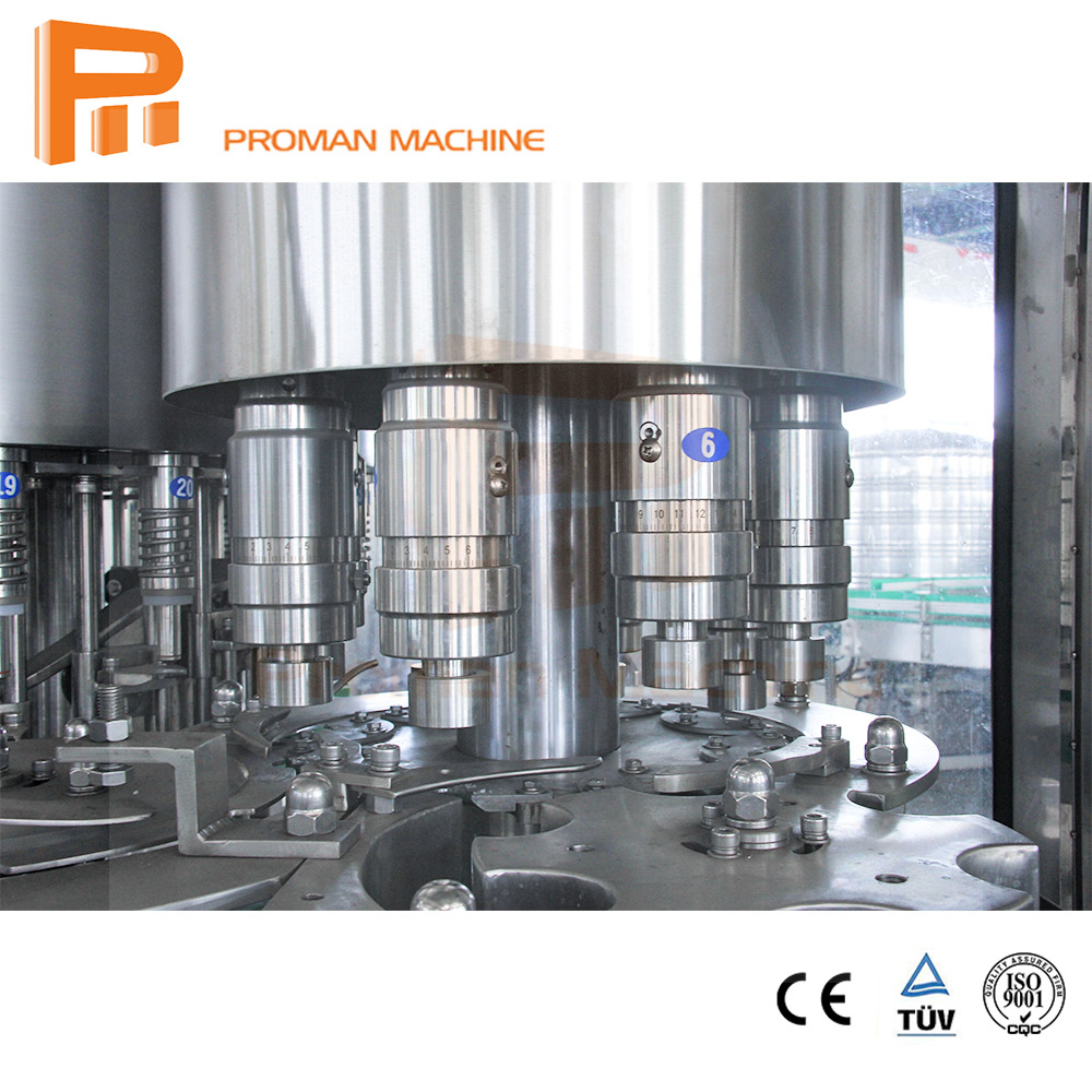 4000Bph Water Filling Machine