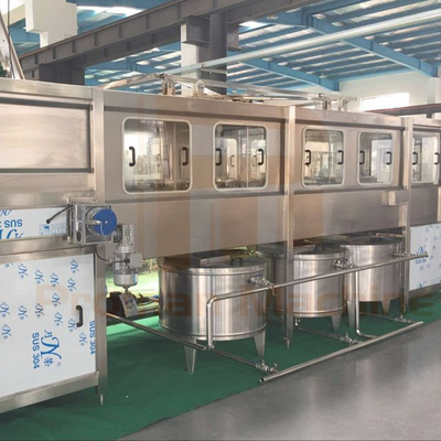 5 Gallon 600Bottle/Hour Washing filling capping machine